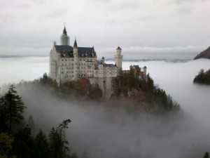 NEUSCHWANSTEIN CASTLE FLOATING