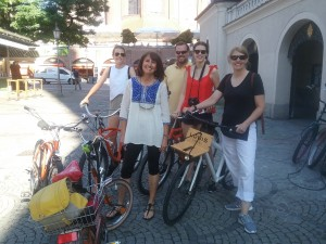 The most fun way to explore Munich is by bike! Great family fun and you get to see SO much more of the city!
